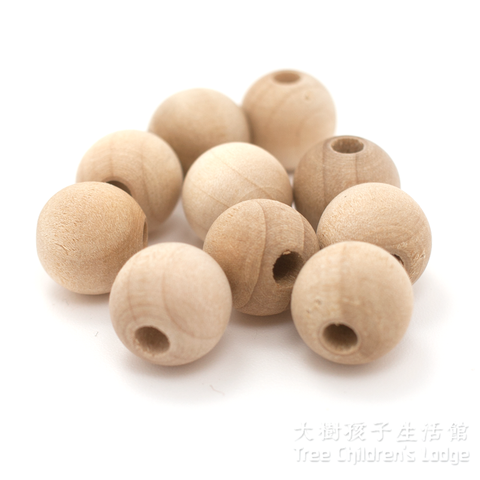 Round Wooden Beads @ 大樹孩子生活館             Tree Children's Lodge, Hong Kong - 1