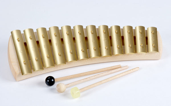 12-Tone Diatonic Glockenspiel by Auris (KDH-012) @ 大樹孩子生活館             Tree Children's Lodge, Hong Kong