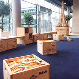 KAPLA Blocks - 200 pieces with cardbox bin & booklet @ 大樹孩子生活館             Tree Children's Lodge, Hong Kong - 5