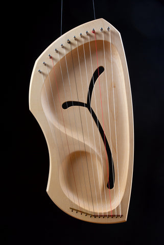 12-String Diatonic Lyre by Auris (LDD) @ 大樹孩子生活館             Tree Children's Lodge, Hong Kong - 1