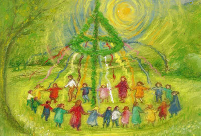 Marjan van Zeyl - Dancing Around The Maypole @ 大樹孩子生活館             Tree Children's Lodge, Hong Kong