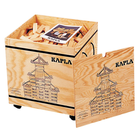 KAPLA Blocks - 1,000 pieces in wooden bin @ 大樹孩子生活館             Tree Children's Lodge, Hong Kong - 1