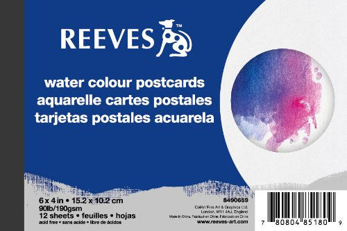 Reeves Water Colour Paper - Postcards @ 大樹孩子生活館             Tree Children's Lodge, Hong Kong