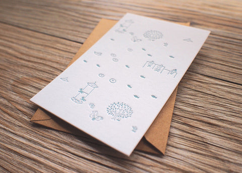 Letterpress Cards - Timelessness @ 大樹孩子生活館             Tree Children's Lodge, Hong Kong