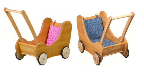Doll Pram with Brake (Baby Walker)|洋娃娃手推車(可作步行器) @ 大樹孩子生活館             Tree Children's Lodge, Hong Kong - 1