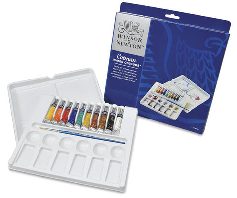 W&N Cotman Water Colors (Palette Set of 10) @ 大樹孩子生活館             Tree Children's Lodge, Hong Kong - 1