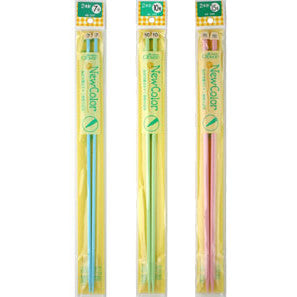 "Clover ""New Color"" Knitting Needles (3 sizes)