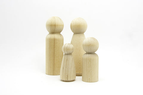 Wooden Peg People (Family) @ 大樹孩子生活館             Tree Children's Lodge, Hong Kong
