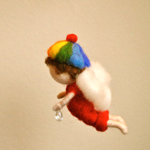 Needle Felted Mobile - Rainbow Rain @ 大樹孩子生活館             Tree Children's Lodge, Hong Kong - 3