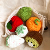 Knitted Fruit Set (6 pieces)