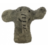 African Animal Finger Puppets - Elephant