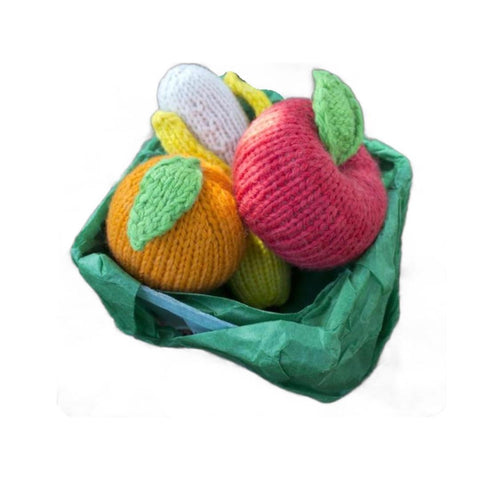 Knitted Set - Apple, Banana & Orange