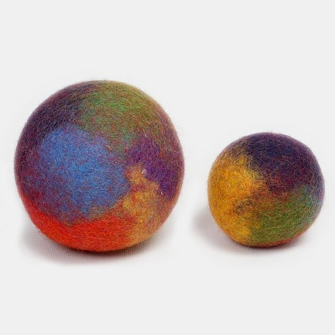 Marbled Rainbow Balls (2 pcs)