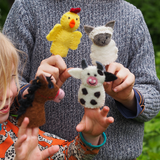 Farm Animal Finger Puppets - Cow
