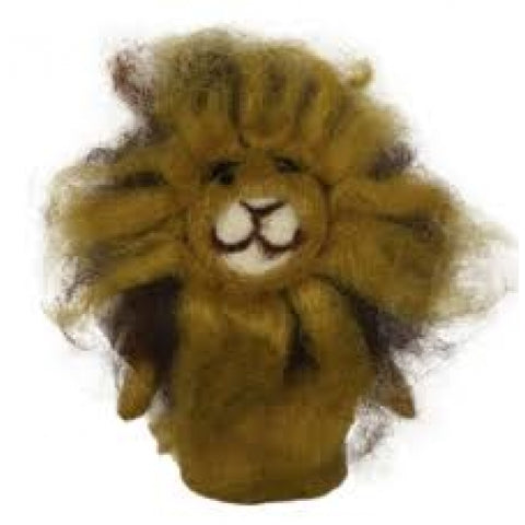 African Animal Finger Puppets - Lion