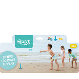QUUT BEACH SET (TRIPLET + RINGO + SUN SHAPER + BEACH BAG)