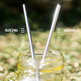 Stainless steel straws @ 大樹孩子生活館             Tree Children's Lodge, Hong Kong - 2