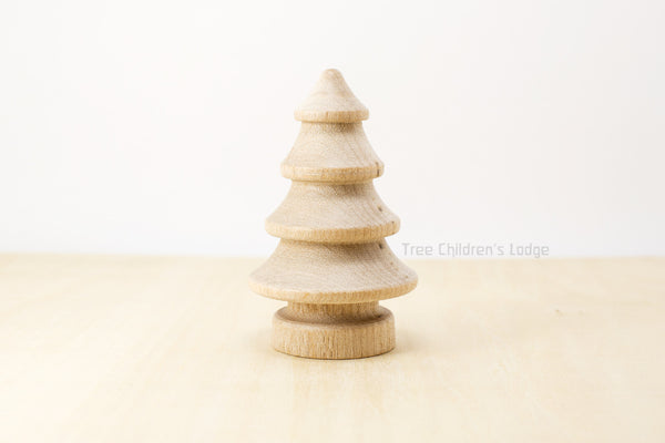 Wooden Little Christmas Tree @ 大樹孩子生活館             Tree Children's Lodge, Hong Kong - 1