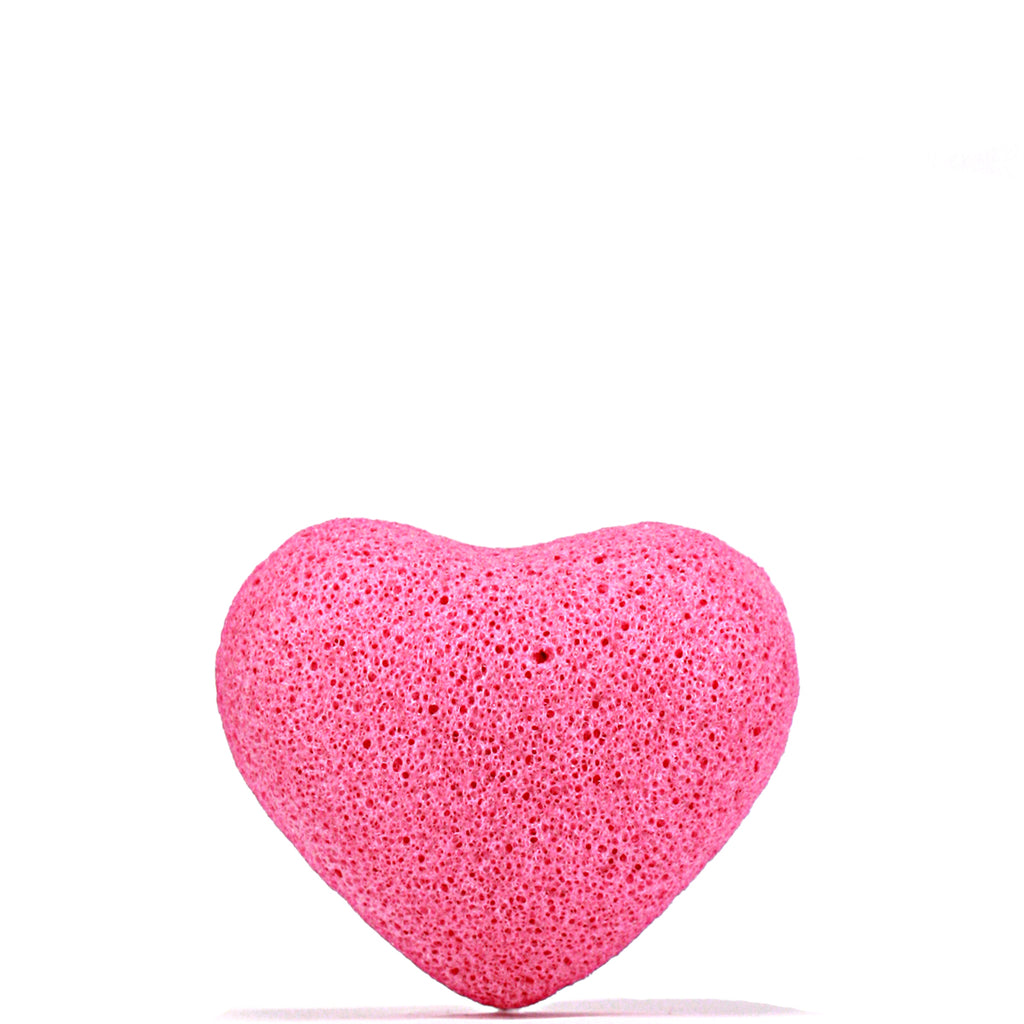 Rose Konjac Sponge Heart