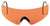 BER OCA800020407  SHOOT GLASSES  ORANGE