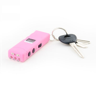Guard Dog Hornet Keychain Stun Gun and LED Flashlight Pink