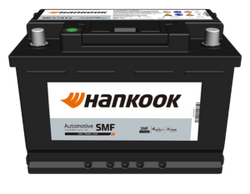 BATERIA HANKOOK N40 / NS60 POLARIDAD INVERTIDA