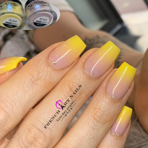 French Neon Summer 2021 Nail Art Trends