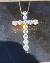 Load image into Gallery viewer, Large Cross Necklace