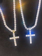 Load image into Gallery viewer, Iced Out Cross Pendant