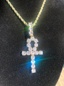 Ankh Necklace 18k Gold plated