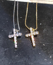 Load image into Gallery viewer, Medium Cross Necklace