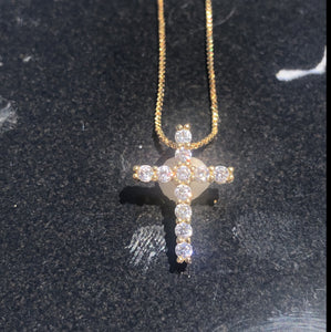 Medium Cross Necklace