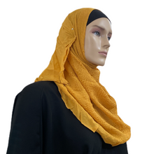 Load image into Gallery viewer, Partially Wrinkled Cotton Shawls