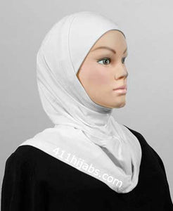 Two Piece Silky Deluxe Hijab