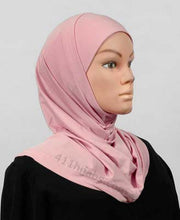 Load image into Gallery viewer, Two Piece Silky Deluxe Hijab
