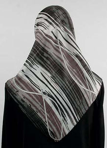 Fashion Print Chiffon Square Scarves