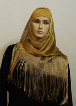 Load image into Gallery viewer, SHIMMERY LIGHT WEIGHT LONG MESH SCARF