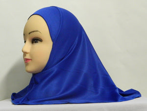 Children's Polyester 1-Piece Solid Color Amira Hijab