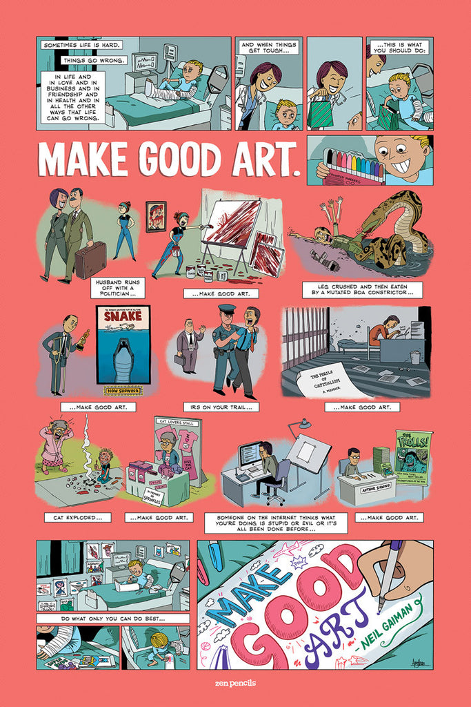 Neil Gaiman - Make Good Art