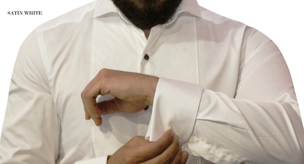 Dress Shirt - Satin White - 7 Downie St.®