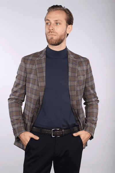 Bentley - Brown Check Jacket - 7 Downie St.®