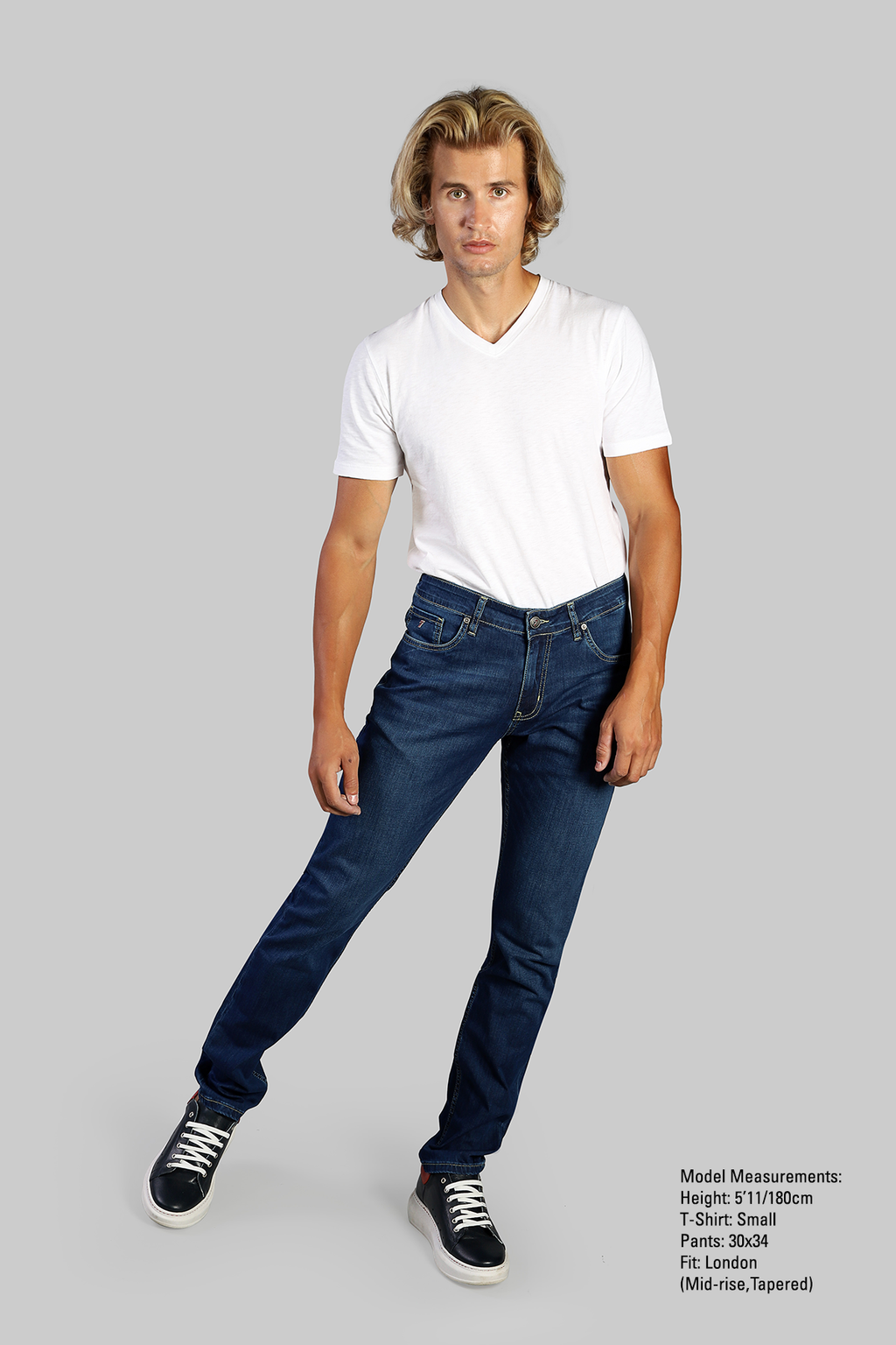 Stretch Denim - Halton Pistachio - 7 Downie St.®