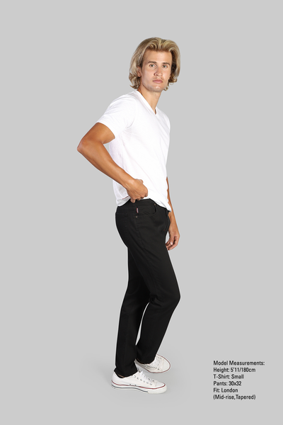 Zetterburg Pant -  Black - 7 Downie St.®