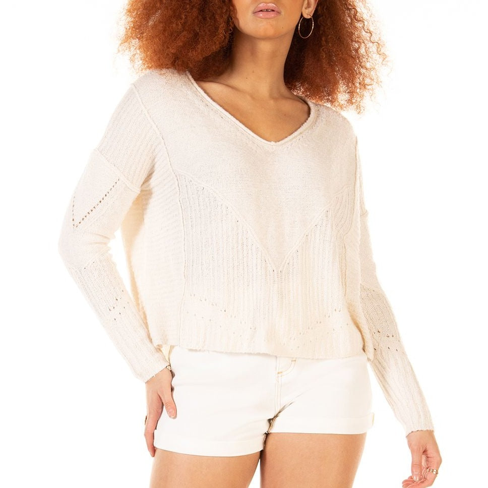 Beach Date Slouchy Sweater