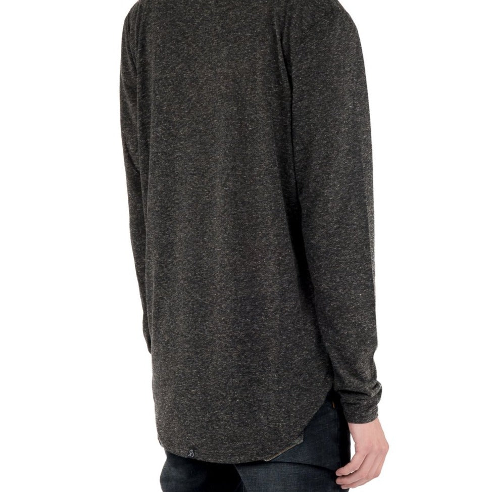 Load image into Gallery viewer, Linen Blend LS Tee