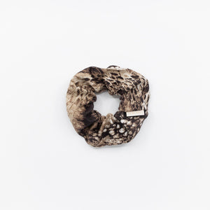 Load image into Gallery viewer, Zenchies Petite Snake Skin Scrunchie