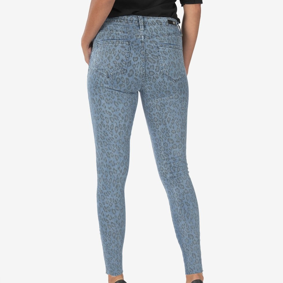 Connie Leopard Skinny