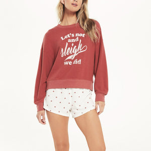 Load image into Gallery viewer, Elle Sleigh Sweatshirt