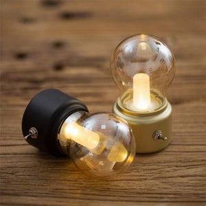 Retro Cordless LED Night Light