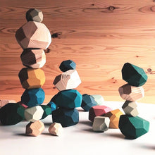 Load image into Gallery viewer, Tumi Ishi Wooden Balancing Stones
